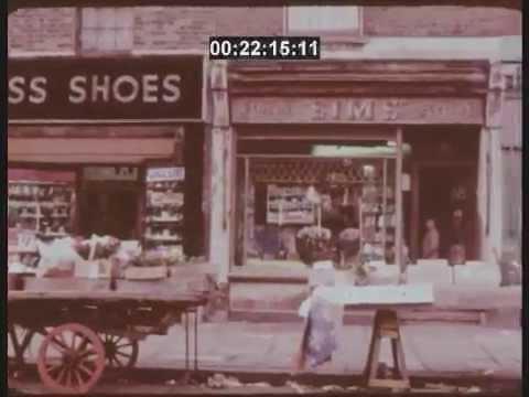 1970s Broadway Market and East London Street Scenes
