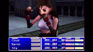 Final Fantasy VII (PS1) Gameplay