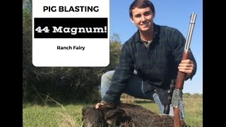 """Pig Hunting Kill Shot - Wray Ranch - """"They Know We"""