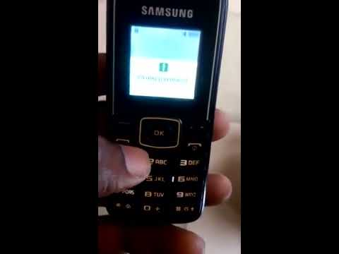 HOW TO REMOVE PHONE LOCK FROM SAMSUNG E1050