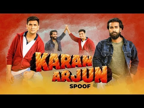Karan Arjun Hyderabadi Spoof ( Funny Comedy) Kiraak Hyderabadiz