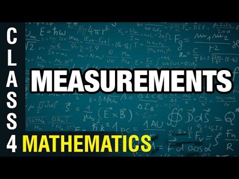 Measurements | 4th Class Mathematics | Digital Teacher