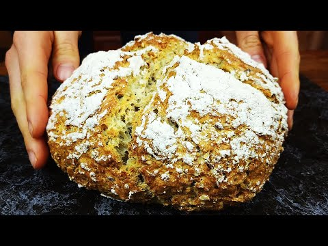 Долго искала этот рецепт! Хлеб за 5 минут в день БЕЗ Дрожжей! Получается у всех! 100% результат!