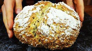 Долго искала этот рецепт Хлеб за 5 минут в день БЕЗ Дрожжей Получается у всех 100 результат