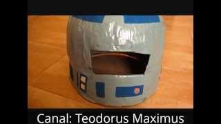 Como hacer un casco casero para un disfraz how to make a helmet for a costume easy and cheap