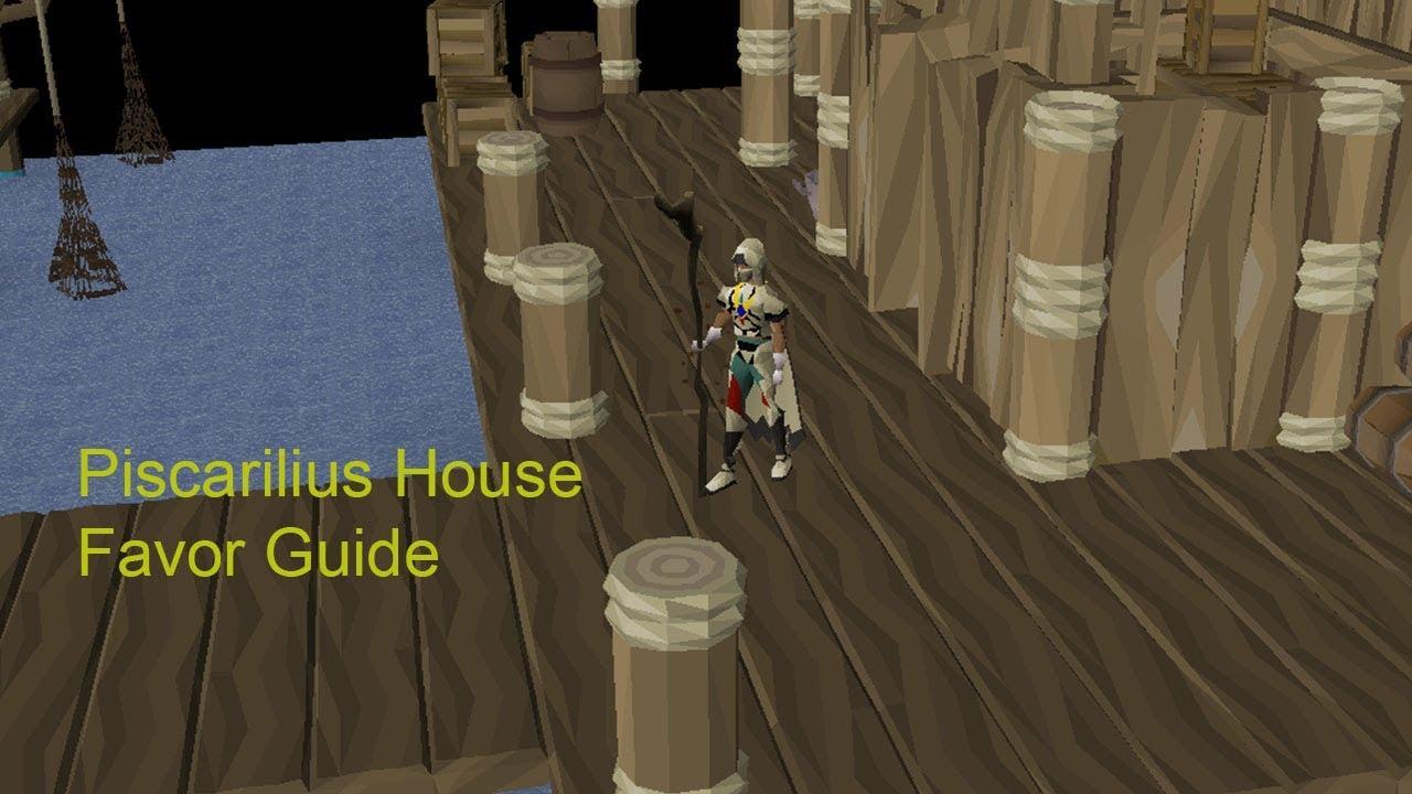Port piscarilius favor guide