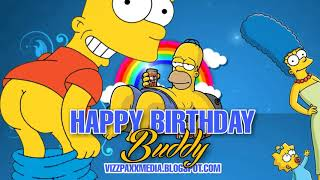 eCards Best Free Funny Animated Simpsons Happy Birthday eCards
