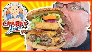 "Crabby Joe's ""the Big Joe"" Burger Review (feat. Ken Domik)"