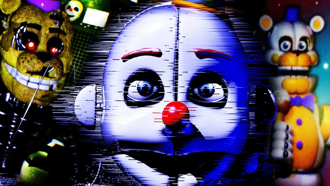 FUNTIME FREDBEAR IN THE SISTER LOCATION