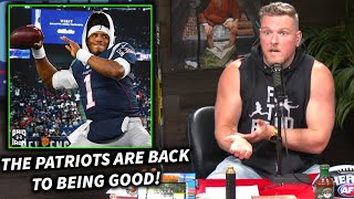 "Pat McAfee ""The Patriots Are Going To Be So Good"""