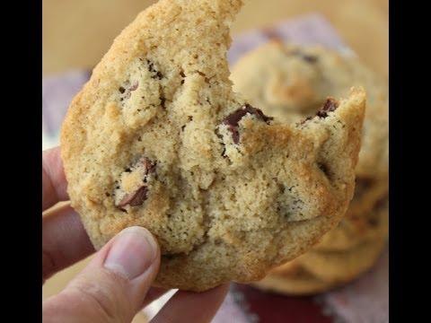 Gluten Free, Almond Flour, Chocolate Chip Cookies