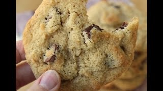 Gluten Free, Almond flour, Chocolate Chip Cookies