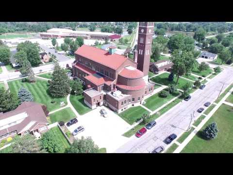 St. Michael's Church Aerial View