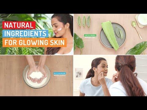 Make Your Skin Glow Using These Natural Ingredients | Glamrs Skin Care