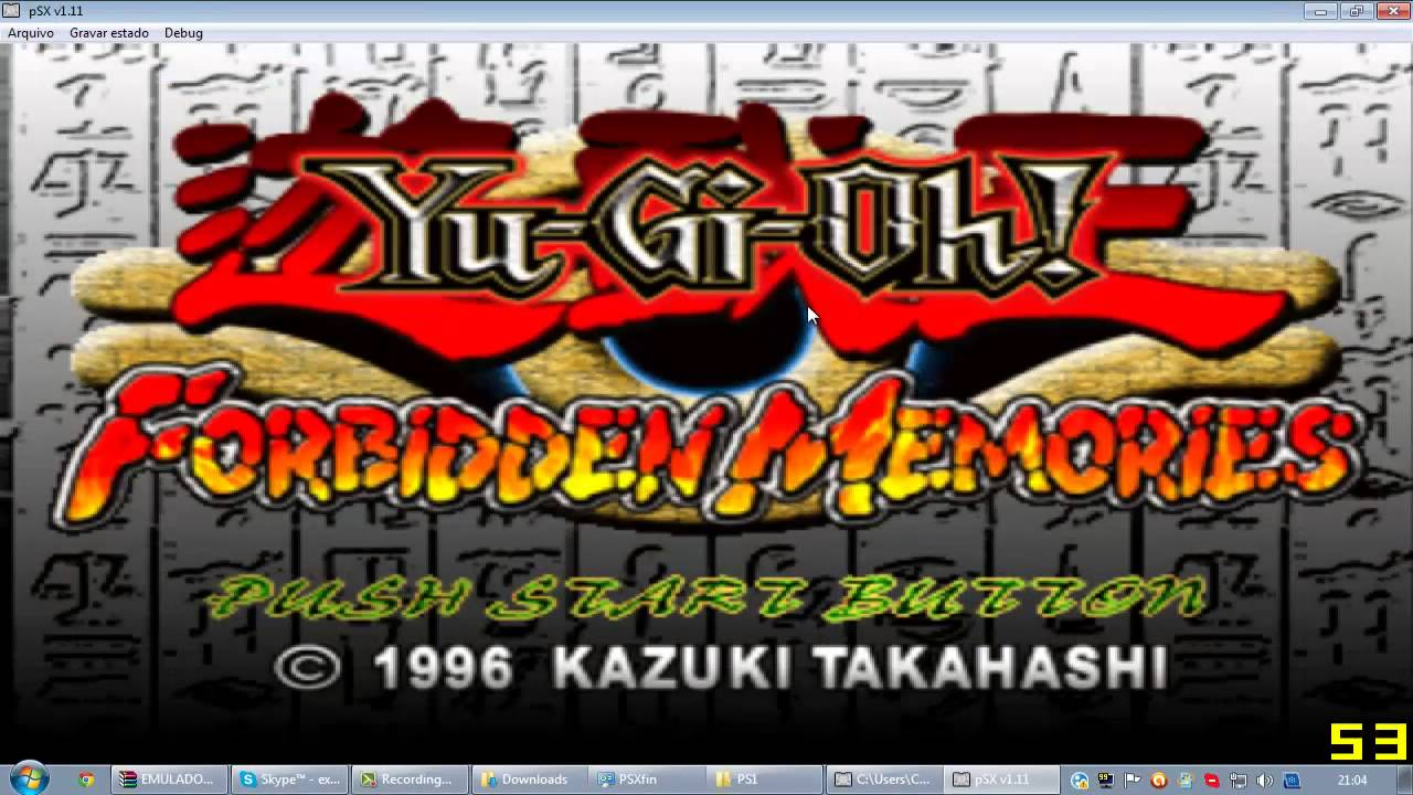 yu-gi-oh forbidden memories - pc/ps1 baixaki