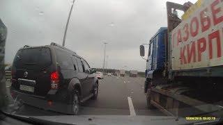 ДТП с грузовиком на КАД.