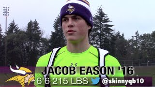 Georgia commit : 6'6 QB Jacob Eason '16 (Lake Stevens , WA)  #UTR Spotlight 2015