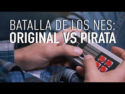 BATALLA DE LOS NES: EL ORIGINAL CONTRA EL PIRATA