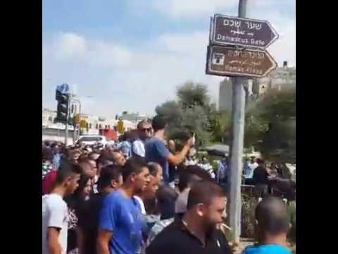 Attempted stabbing attack @ Shar Shechem (Media Resource Group)