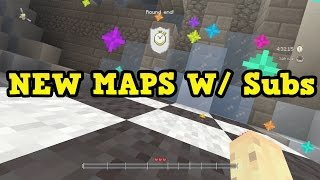 Minecraft PS4 - NEW Glide Maps W/ Subscribers