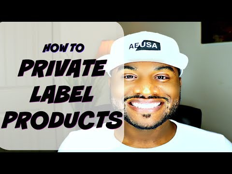 How To Private Label Products For Amazon Or eBay Tutorial