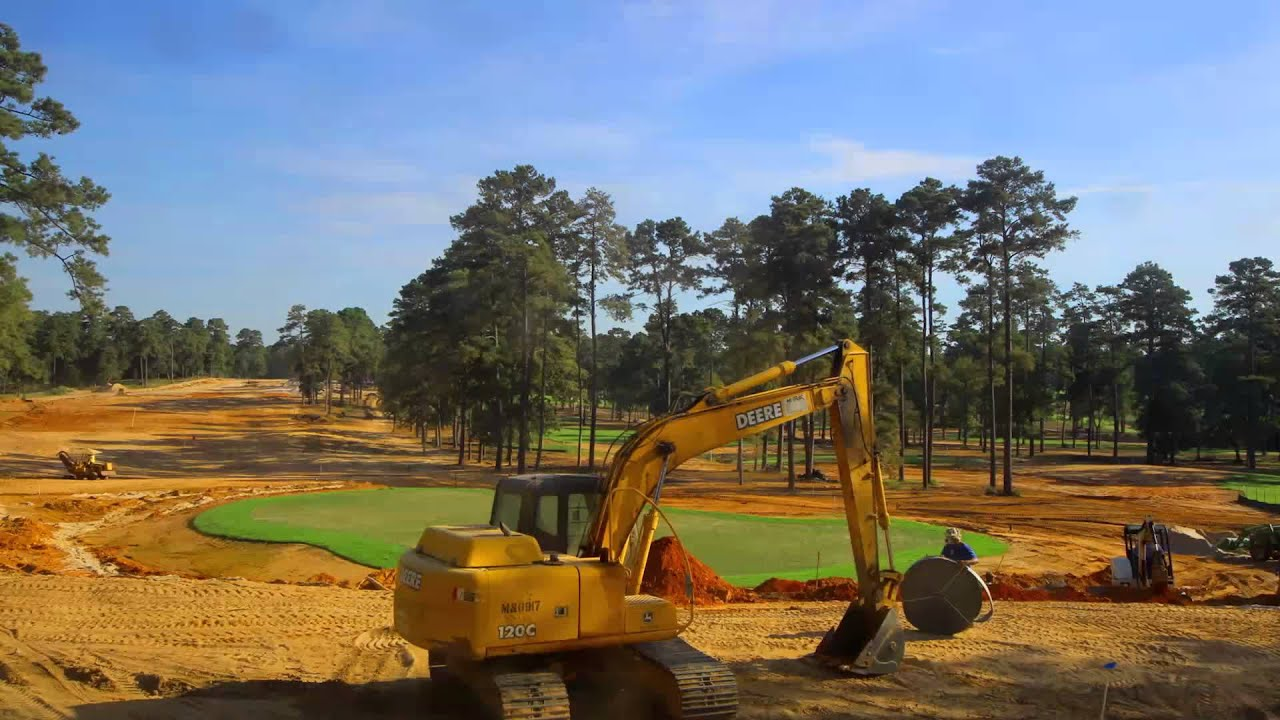 Bluejack National 18 Time Lapse Youtube