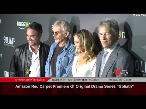 Red Carpet Premiere of Amazon's New Drama Series