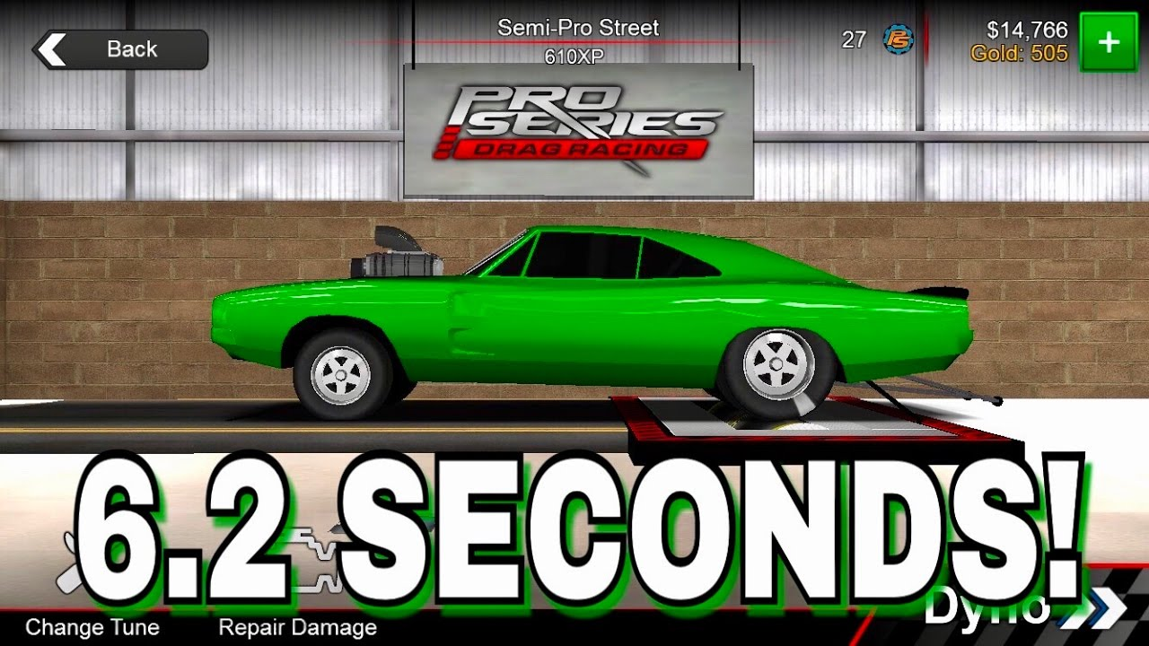 Best 6 2 Seconds Tune! | Pro Series Drag Racing