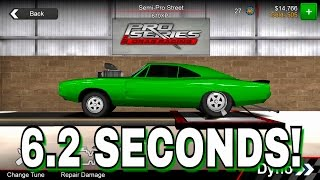 Best 6.2 Seconds Tune! | Pro Series Drag Racing