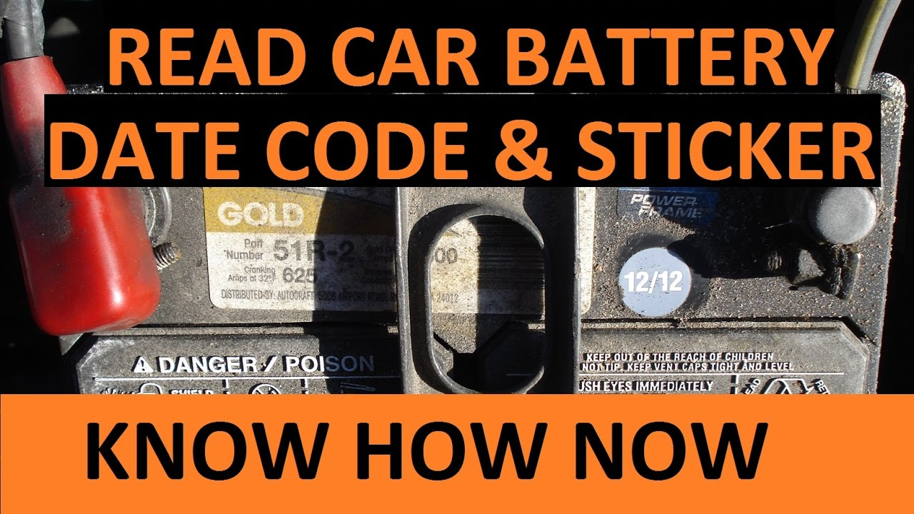 Year Old Car Battery