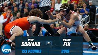 Nick Suriano vs. Daton Fix: FULL 2019 NCAA Championship match at 133 pounds