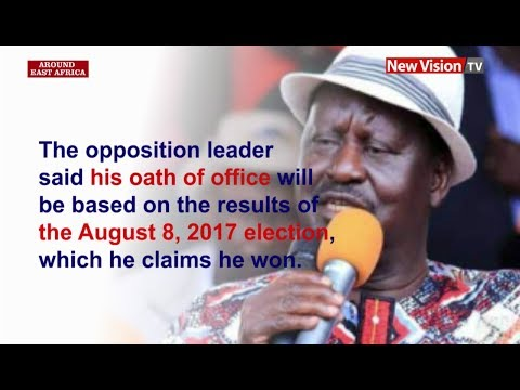 Around East Africa - Raila Odinga vows to form rival government