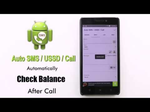 Android App: Auto SMS / USSD / Call