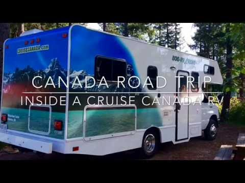Have A Look Inside A Cruise Canada RV (motorhome)