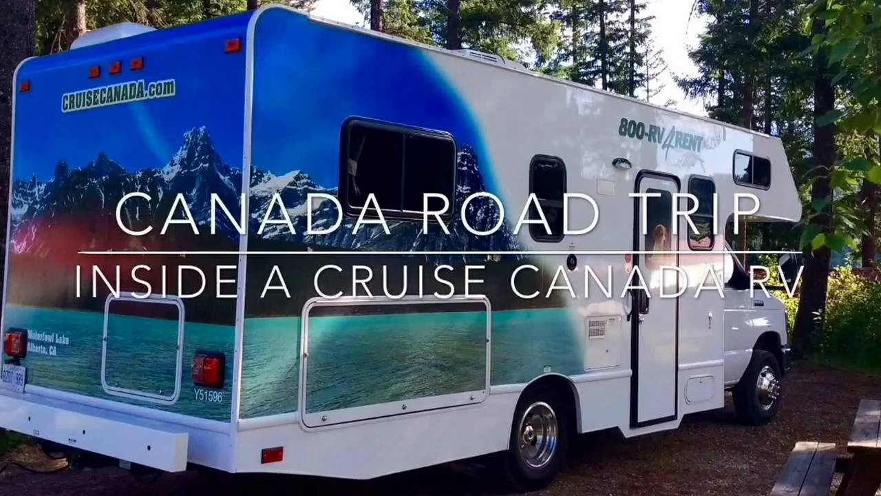 Top Tips for your RV (motorhome) road trip in Canada - The Quirky