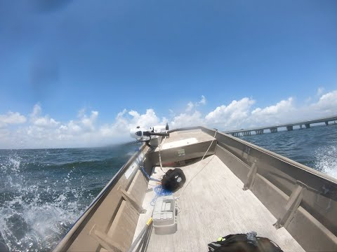 Jon Boat, Rough Waters | Went Searching For Fish, Caught Rough Waters!
