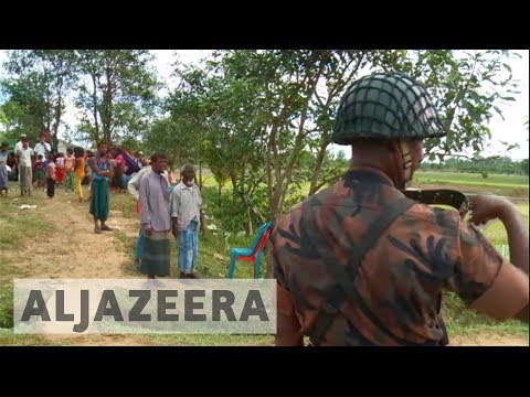 Bangladesh sends Rohingya refugees back