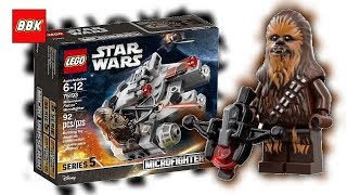 LEGO Star Wars Millennium Falcon Microfighter 75193 Review Unboxing Speed Build