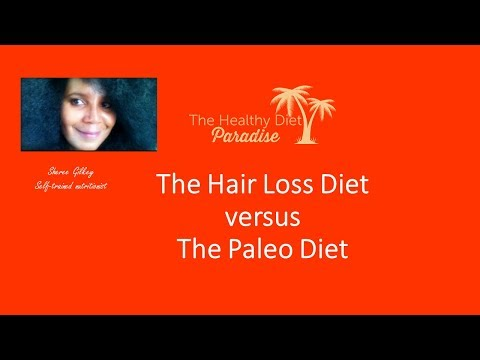 The Paleo Diet vs. The Hair Loss Diet:  Key Differences and Similarities