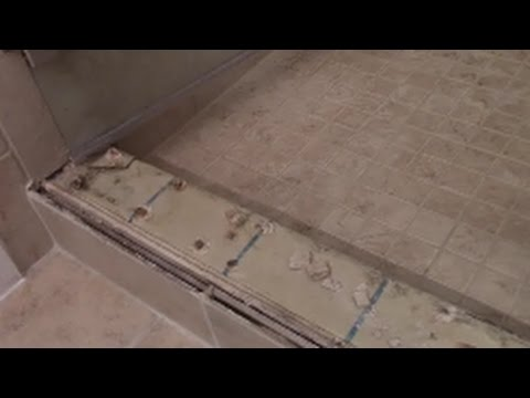 Shower Curb Failure....REPAIRED !