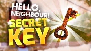 SECRET KEY & PROOF THE NEIGHBOUR'S THE DEVIL - Hello Neighbour Alpha 2 Secrets - Hello Neighbour Mod