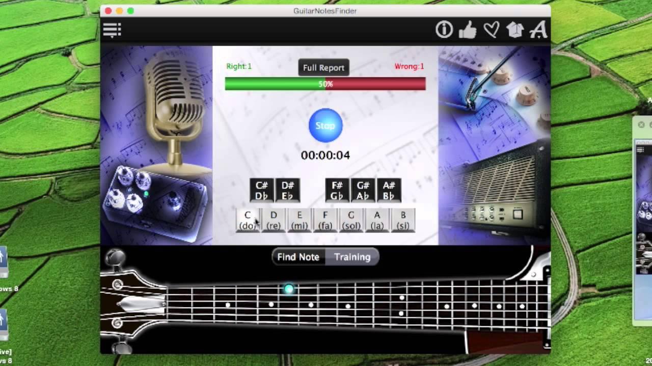 Guitar Notes Finder App Youtube