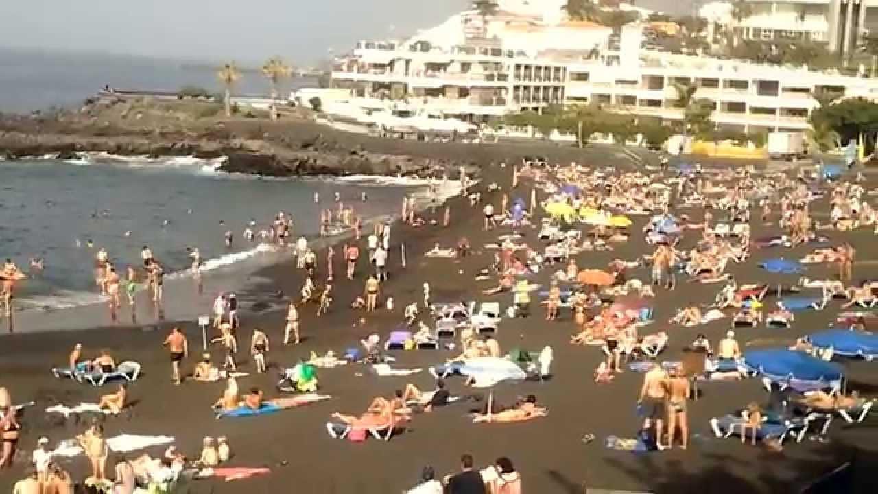 Playa arena puerto de santiago tenerife youtube - Puerto santiago tenerife mapa ...