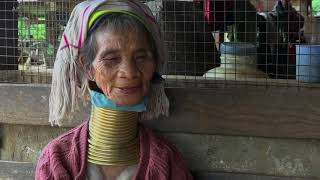 Young Women in Myanmar Shunning Traditional Neck Rings