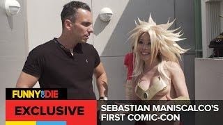 Sebastian Maniscalco's First Comic Con