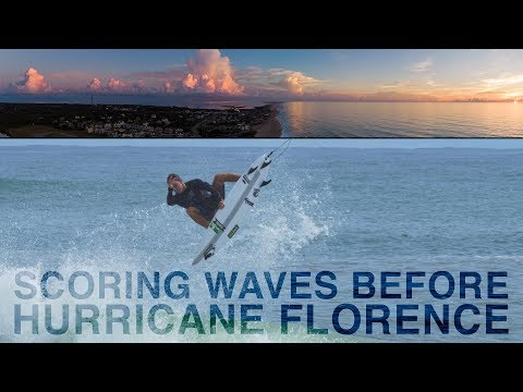 HURRICANE FLORENCE Pt. 1  |  SCORING WAVES before the STORM
