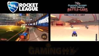 Rocket League Vs Supersonic Acrobatic Rocket-Powered Battle-Cars