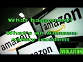 How to fix an Amazon.com safety incident violation