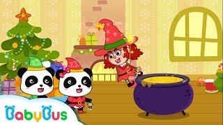 【聖誕節????】聖誕節小女巫+更多合集 | 兒童卡通動畫 | 幼兒音樂歌曲 | 兒歌 | 童謠 | 動畫片 | 卡通片 | 寶寶巴士 | 奇奇 | 妙妙