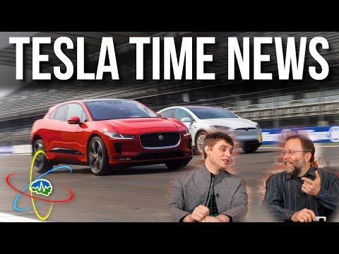 Tesla Time News - Jaguar I-Pace vs Model X, and more!